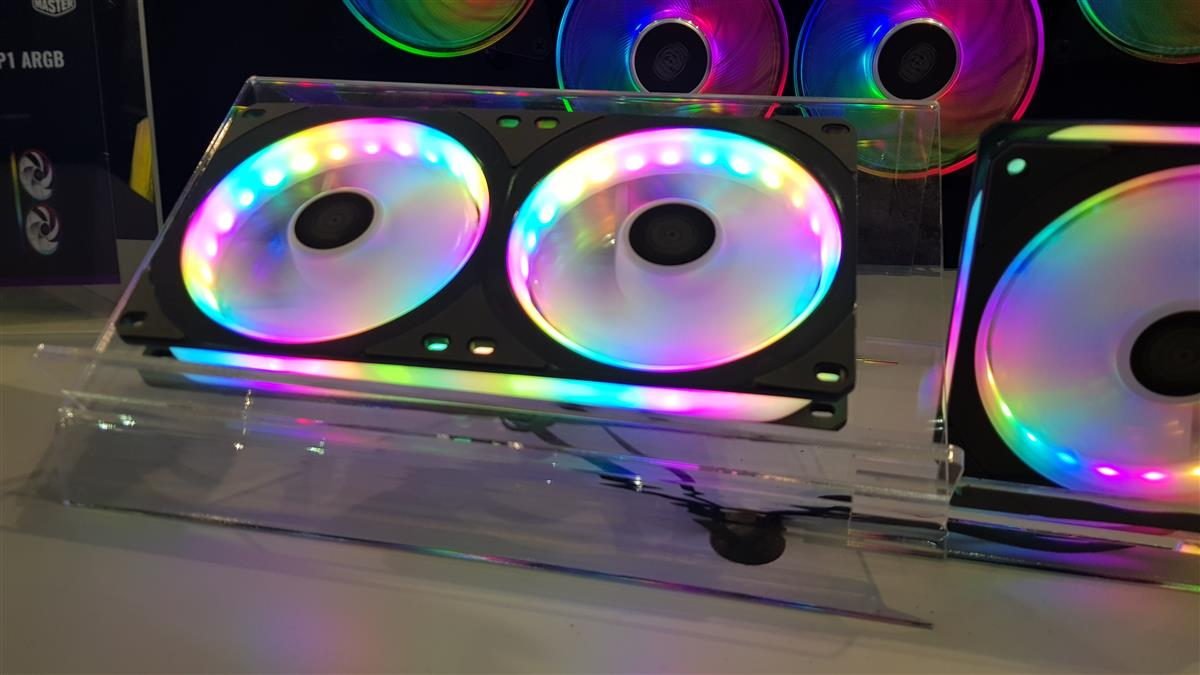 Cooler Master at Computex | New RGB fans and Video | Cases & Cooling