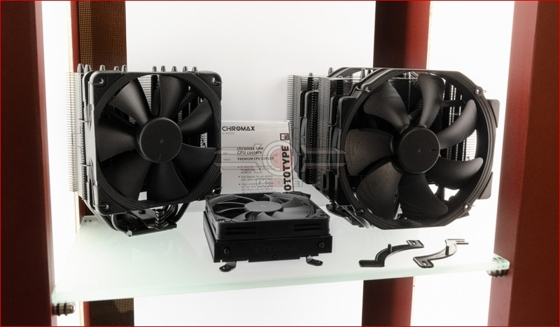 Noctua go all black for Computex 2018