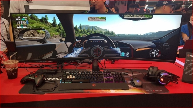 MSI reveals 32:9 3840x1080 Optix MAG491C FreeSync monitor