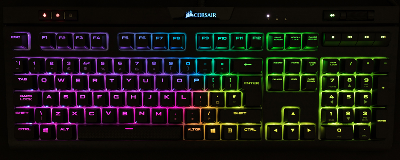 8b4105d0aa5 Corsair Strafe RGB MK2 Silent Mechanical Gaming Keyboard ...