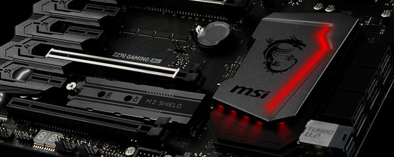 MSI's Z370 motherboards are