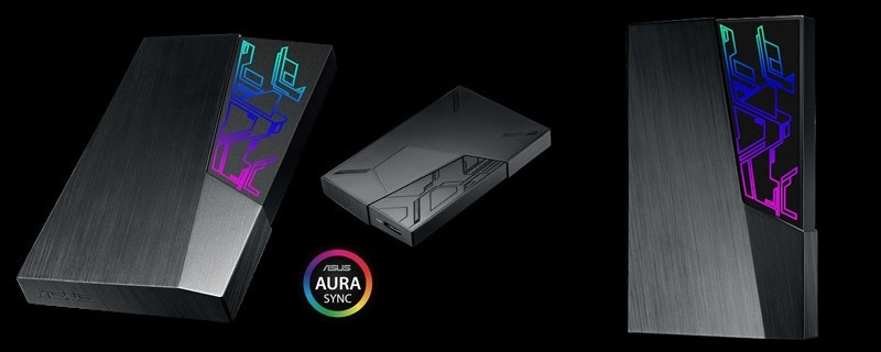 ASUS launches their FX series of external HDD with Aura Sync | OC3D News