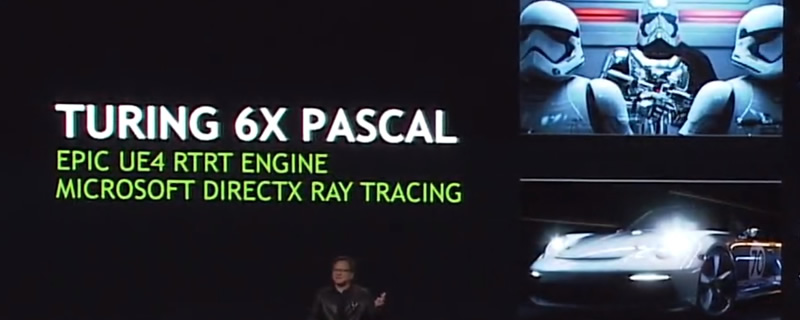 Nvidia Turing uses RTX and DLAA tech to deliver a 6x performance
