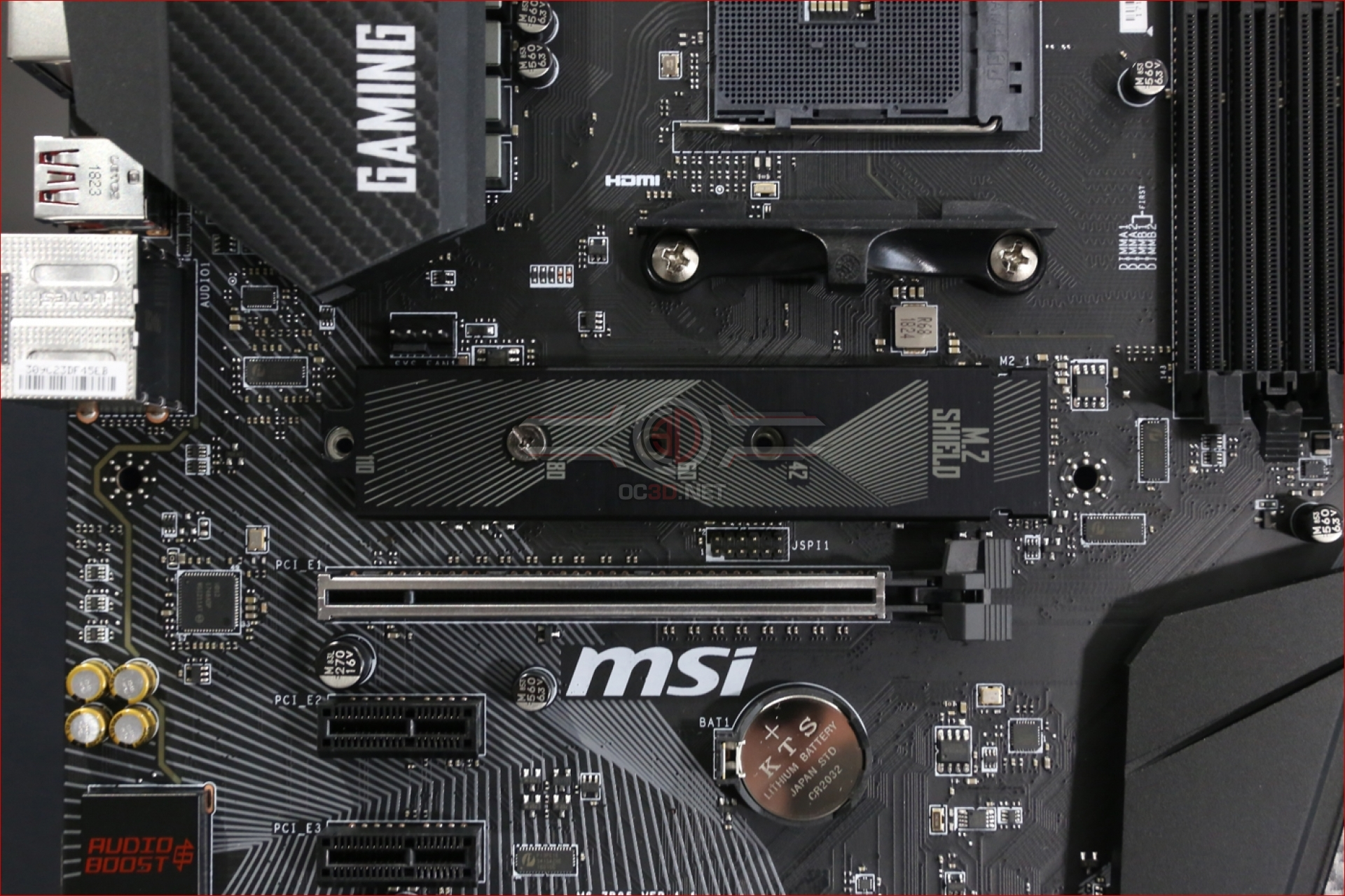 MSI B450 Gaming Pro Carbon AC Review | Up Close | CPU