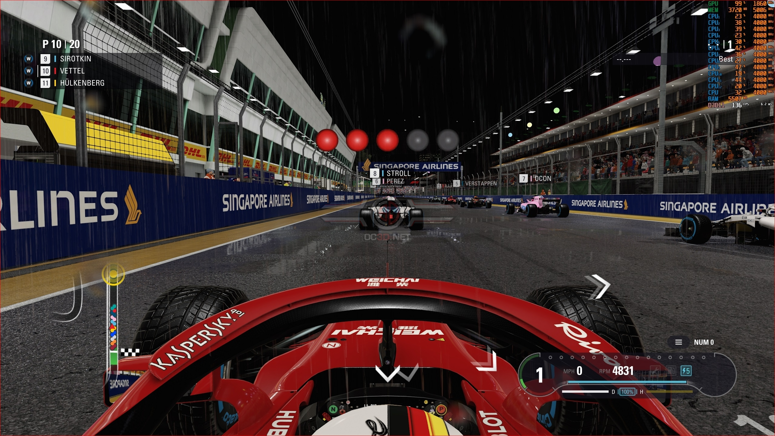 F1 2018 PC Performance Review | Graphical Comparison - Ultra Low to