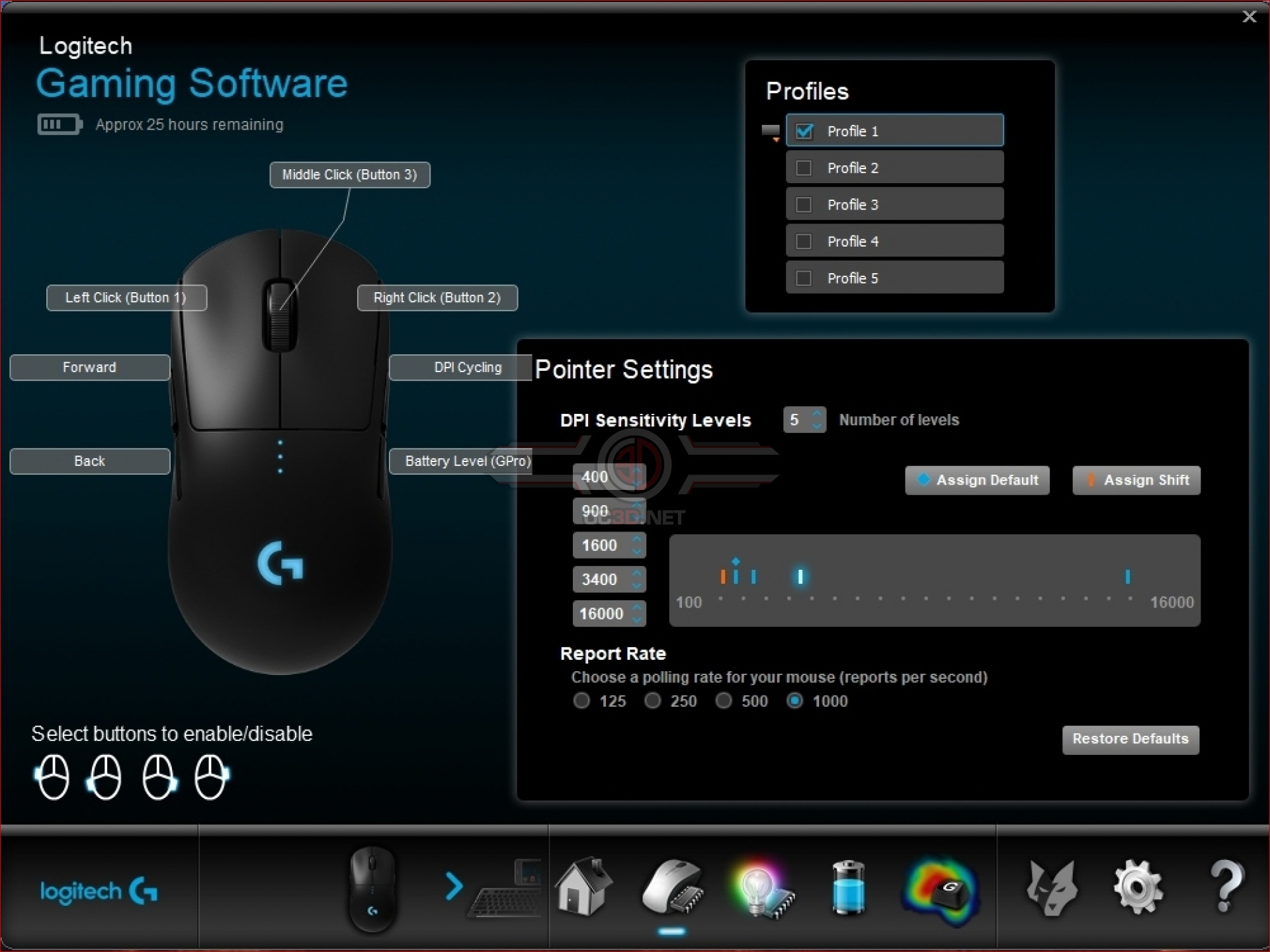 Logitech G Wireless Pro Gaming Mouse Review | Software | Input