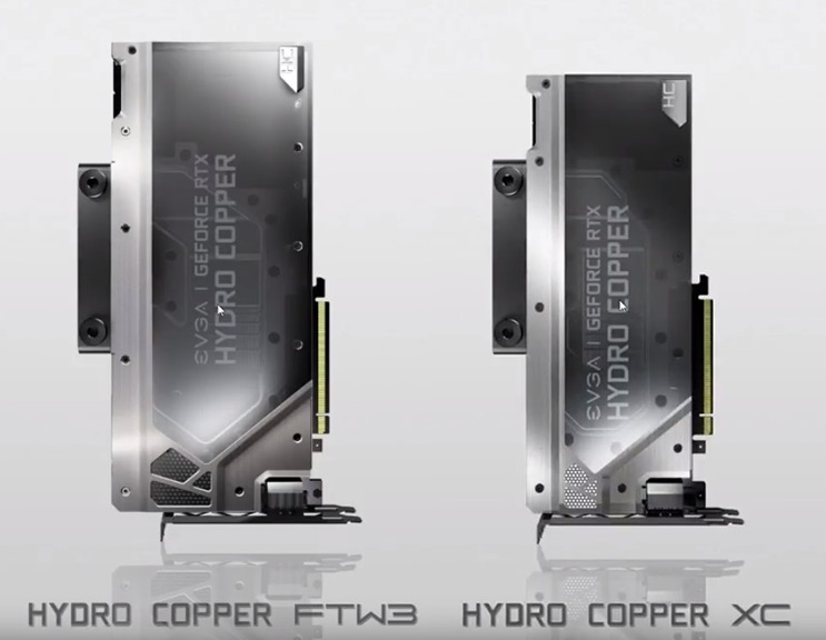 EVGA's Hydro Copper RTX series graphics cards revealed | OC3D News