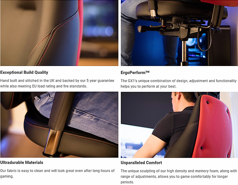 Brilliant Edge Unveils Their Gx1 Ergonomic Gaming Chair Oc3D News Squirreltailoven Fun Painted Chair Ideas Images Squirreltailovenorg
