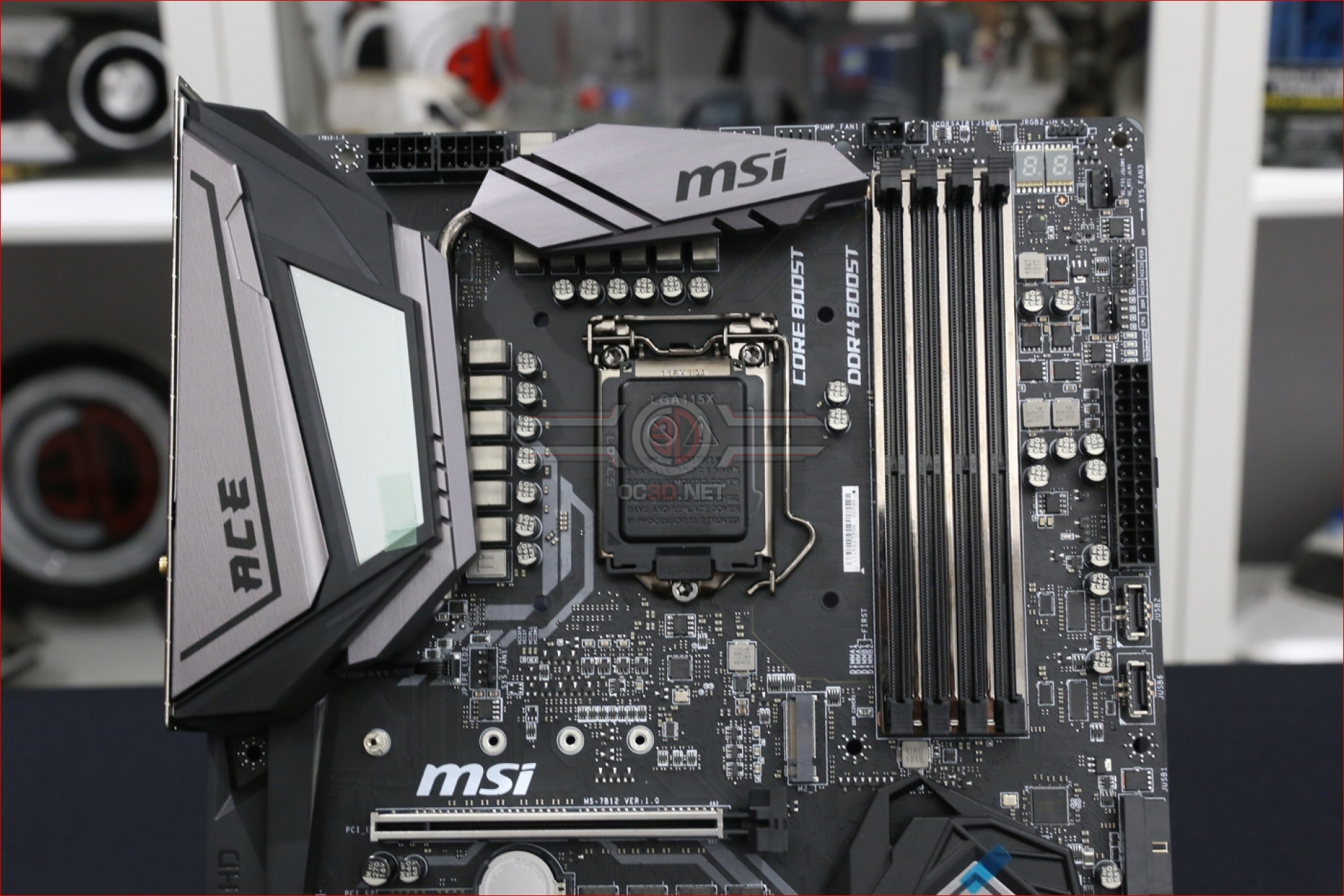 Msi Z390 Meg Ace Review Up Close Cpu Amp Mainboard