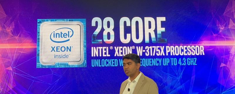 Intel reveals unlocked 28-core Intel XEON W-3175X processor