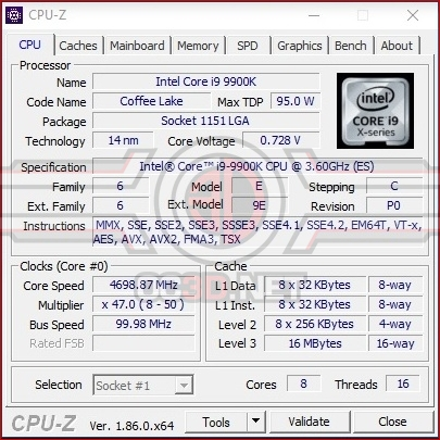 Intel Core i9-9900K and ASUS Z390 Strix-E Review | Test Setup and