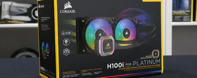 Corsair H100i RGB Platinum and H115i RGB Platinum Review