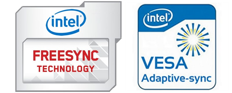 Intel Commits to VESA Adaptive Sync Support - Piggybacks on AMD's FreeSync Ecosystem
