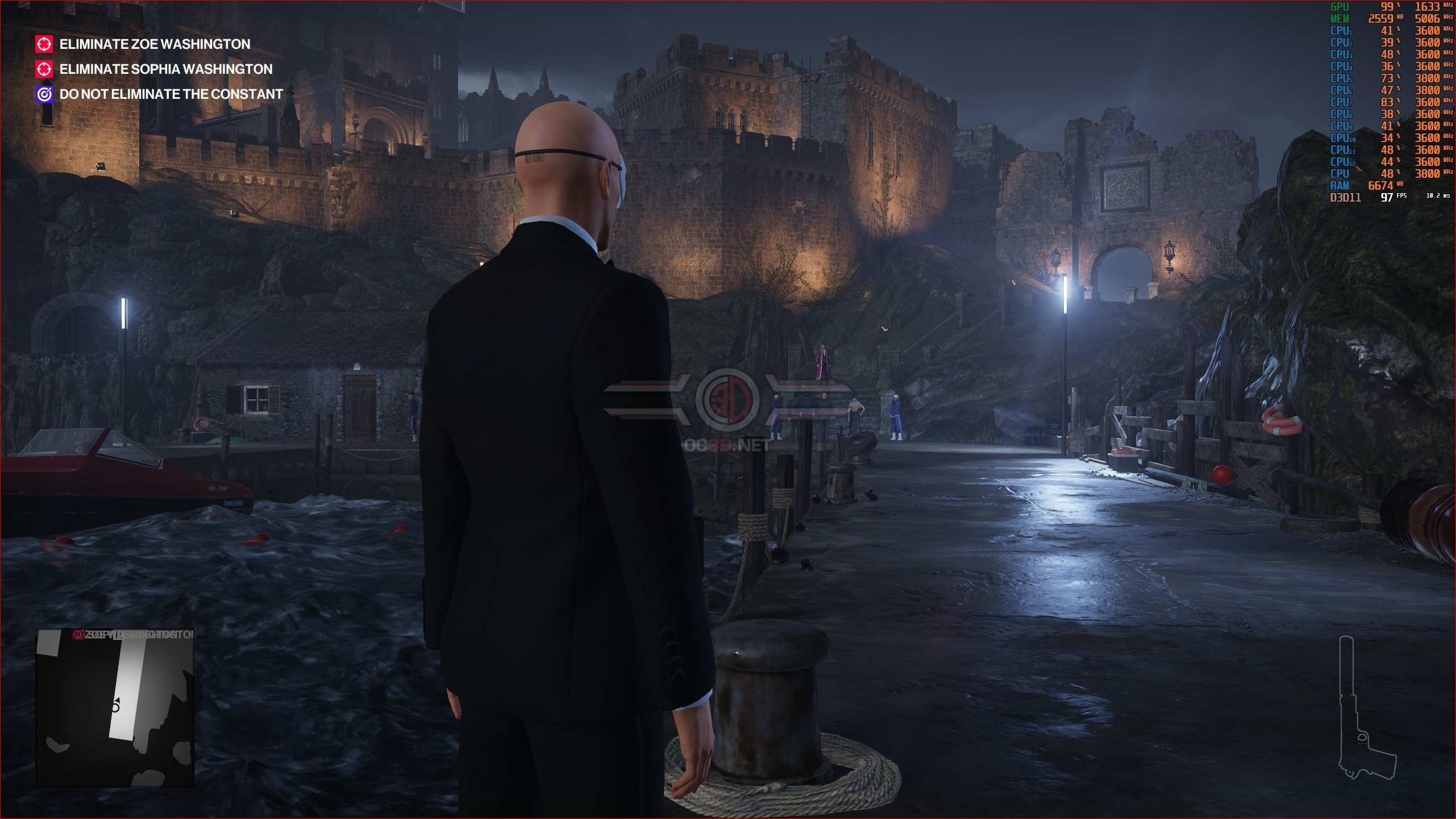 Hitman 2 Pc Performance Review Graphical Comparison Low To