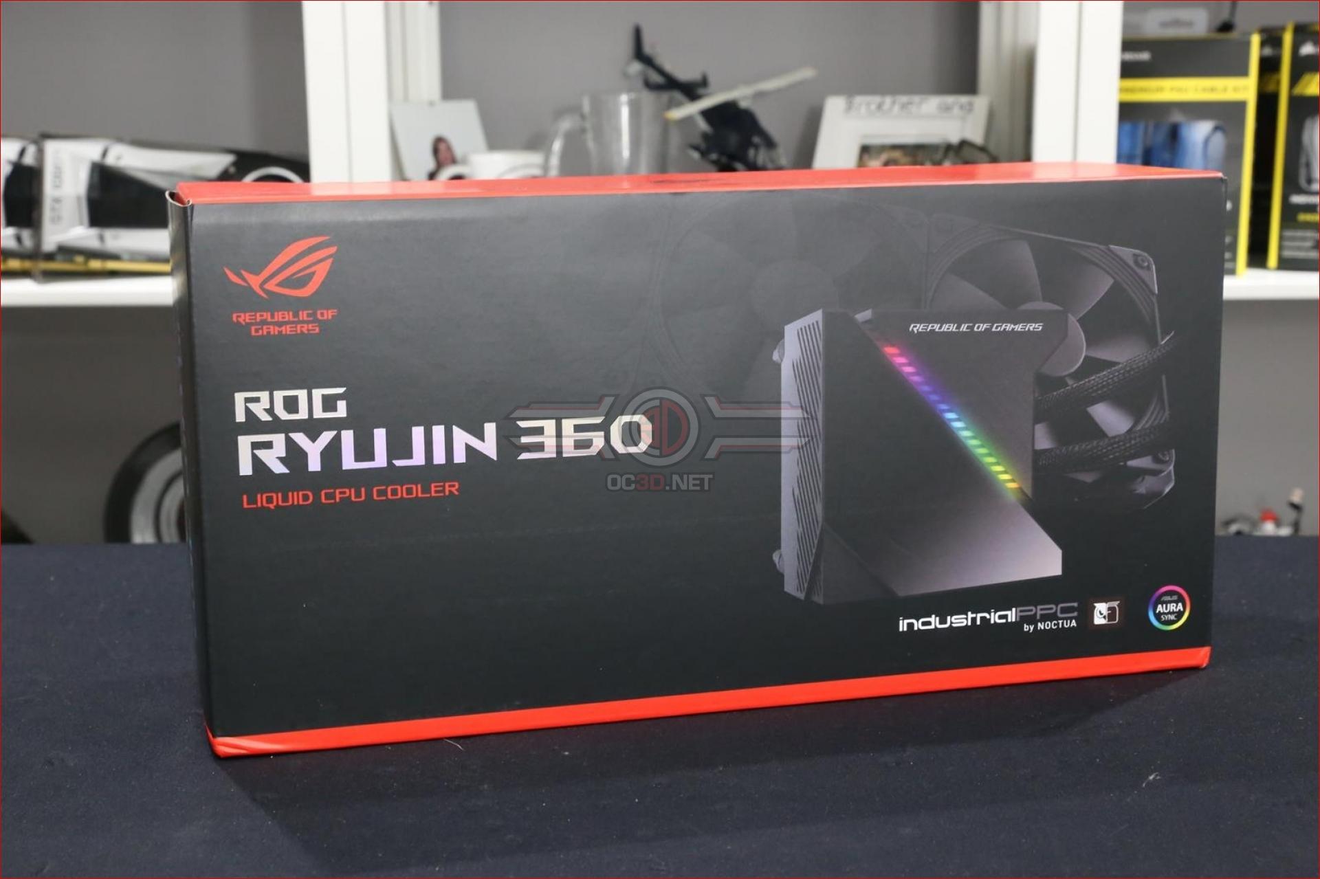 ASUS ROG Ryuo 240 and Ryujin 360 AIO Liquid Cooler Review
