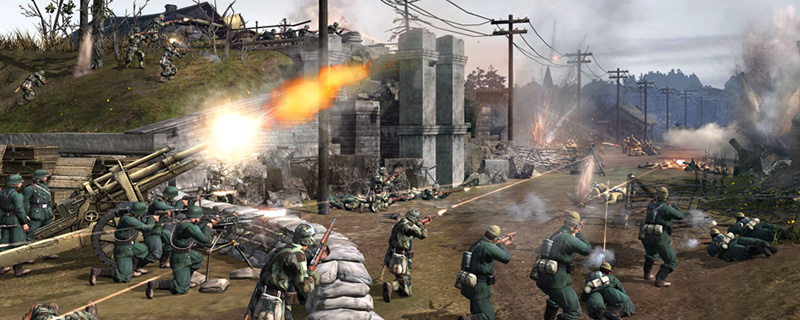 Company of Heroes 2 is currently free on Steam