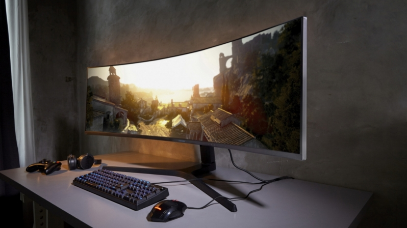 Samsung Reveals their 5120x1440 Ultrawide FreeSync 2 HDR Display