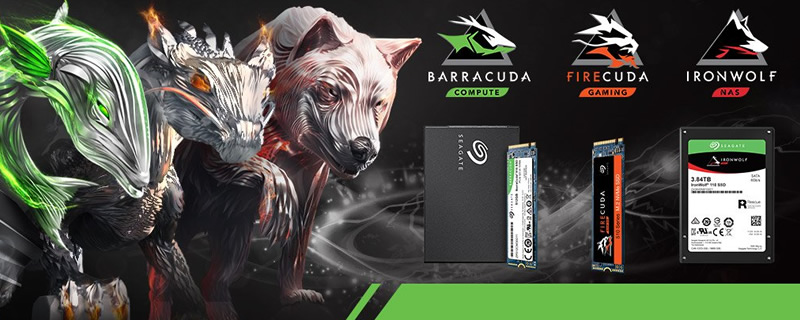Seagate Unleashes NAS-Grade IronWolf SSDs and FireCUDA NVMe Drives