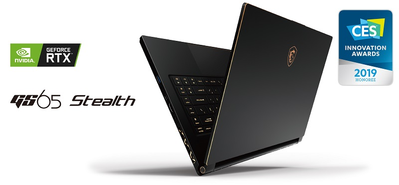 MSI Launches their Slimline GS Stealth Laptop Lineup with RTX 2080