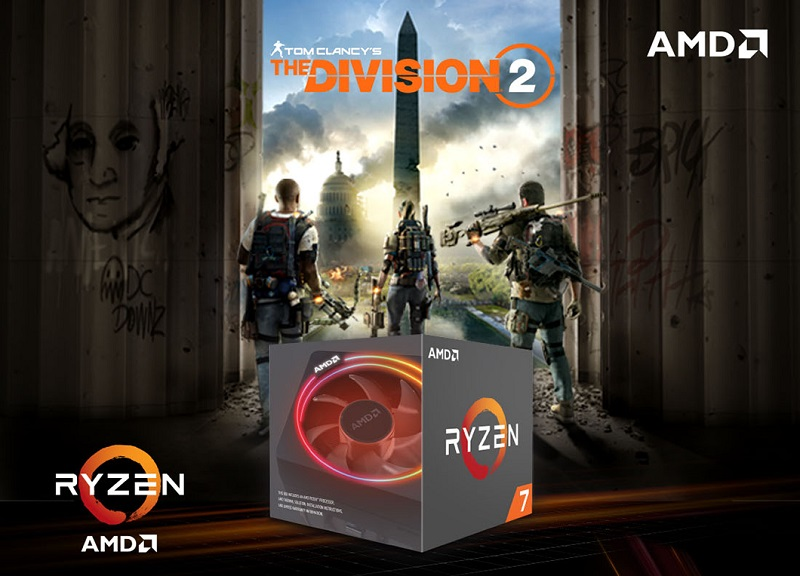 AMD is Bundling The Division 2 with new Ryzen 5/7 2000