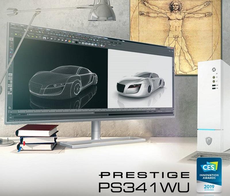 MSI Launches their Ultrawide 5K Prestige PS341WU Display