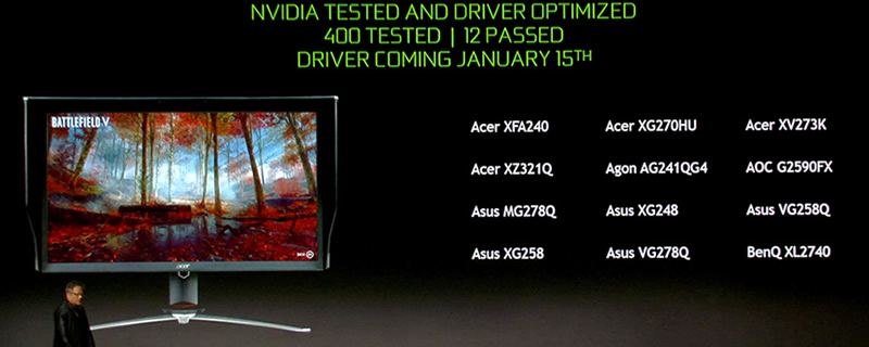 Nvidia Launches their 417 71 WHQL Driver to Enable G-Sync on