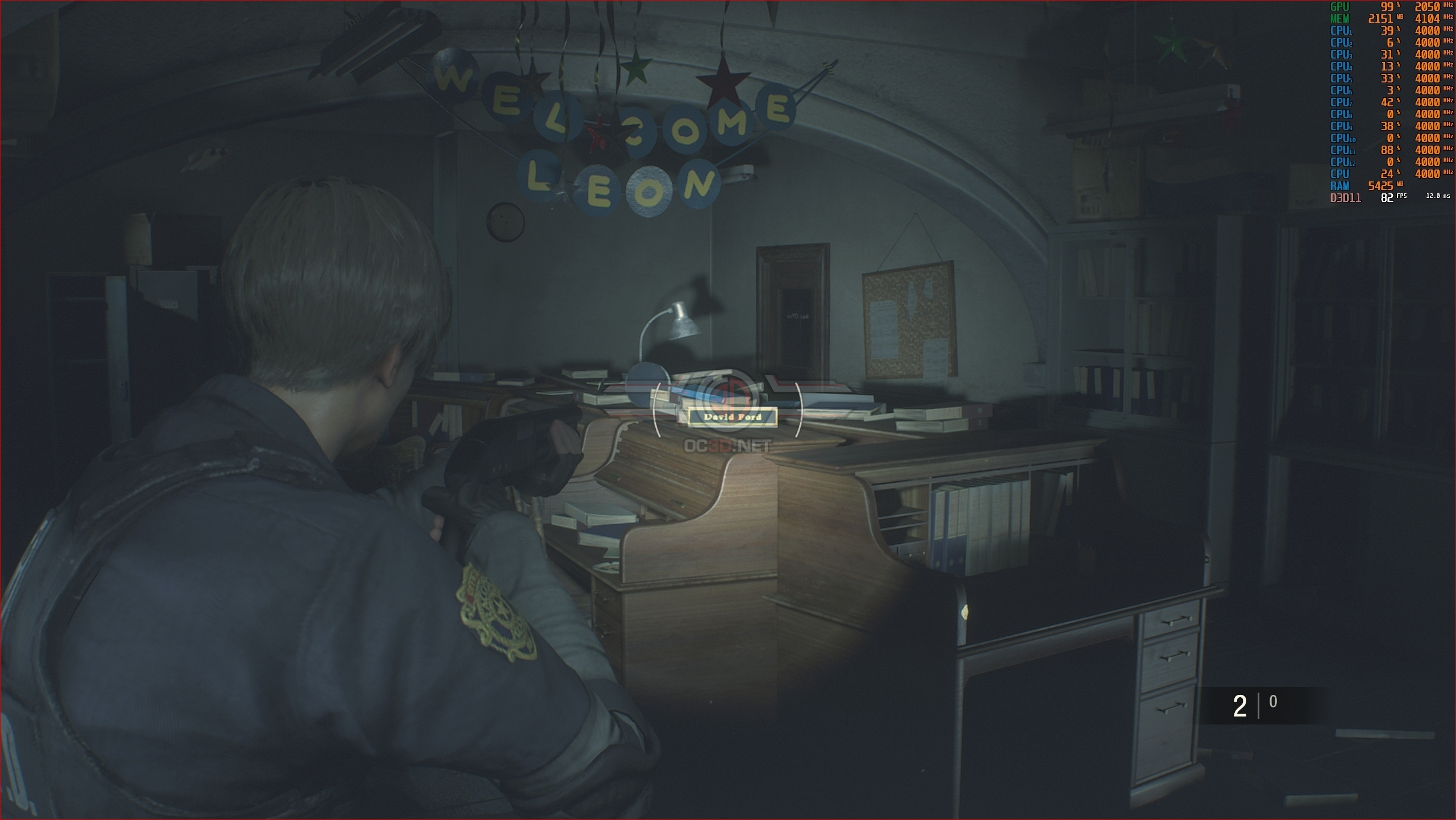 Resident Evil 2 Remake PC Performance Review | Graphical