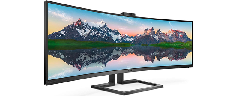 Philips Reveals 499P9H Dual-Wide 1440p HDR Monitor with