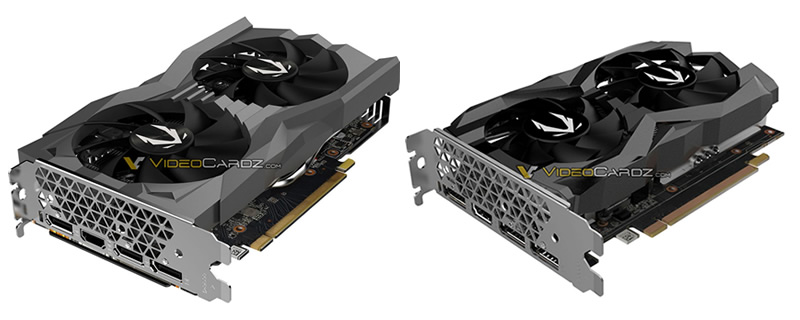 Two Zotac GTX 1660 Ti Models have been Pictured