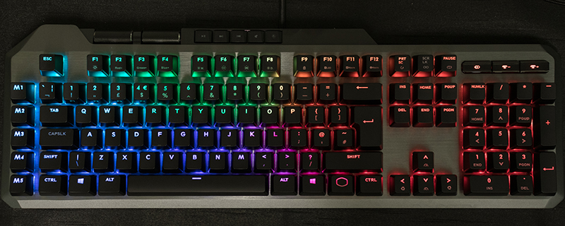 Cooler Master MK850 AIMPAD Mechanical Gaming Keyboard Review