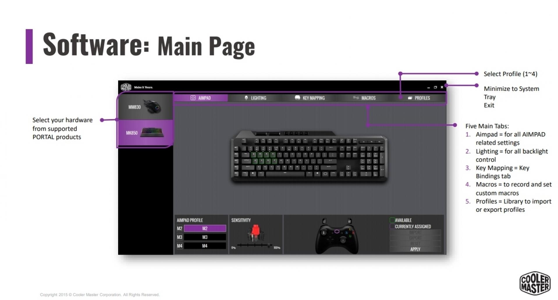 Cooler Master MK850 AIMPAD Mechanical Gaming Keyboard Review