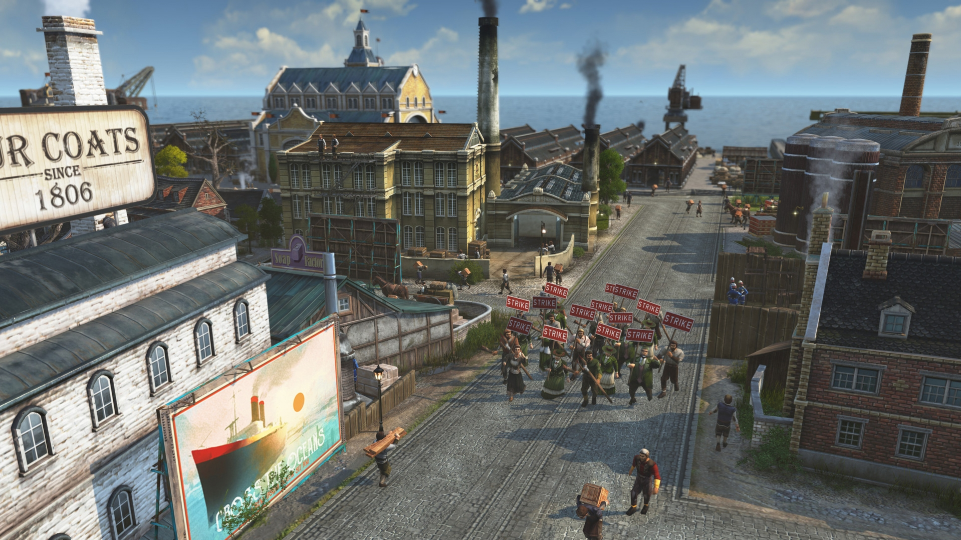 Anno 1800 Is Getting Removed from Steam - Pre-orders will be