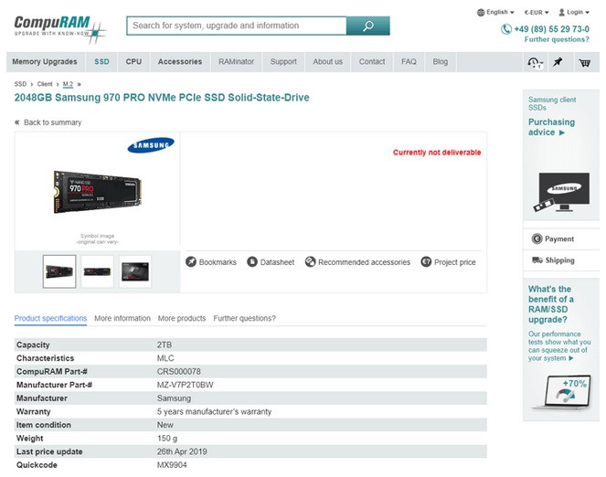 Samsung 980 Ssd Release Date