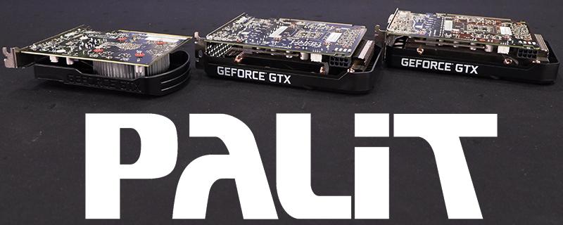 Palit GTX 1650, 1660 and 1660 Ti StormX Review Roundup