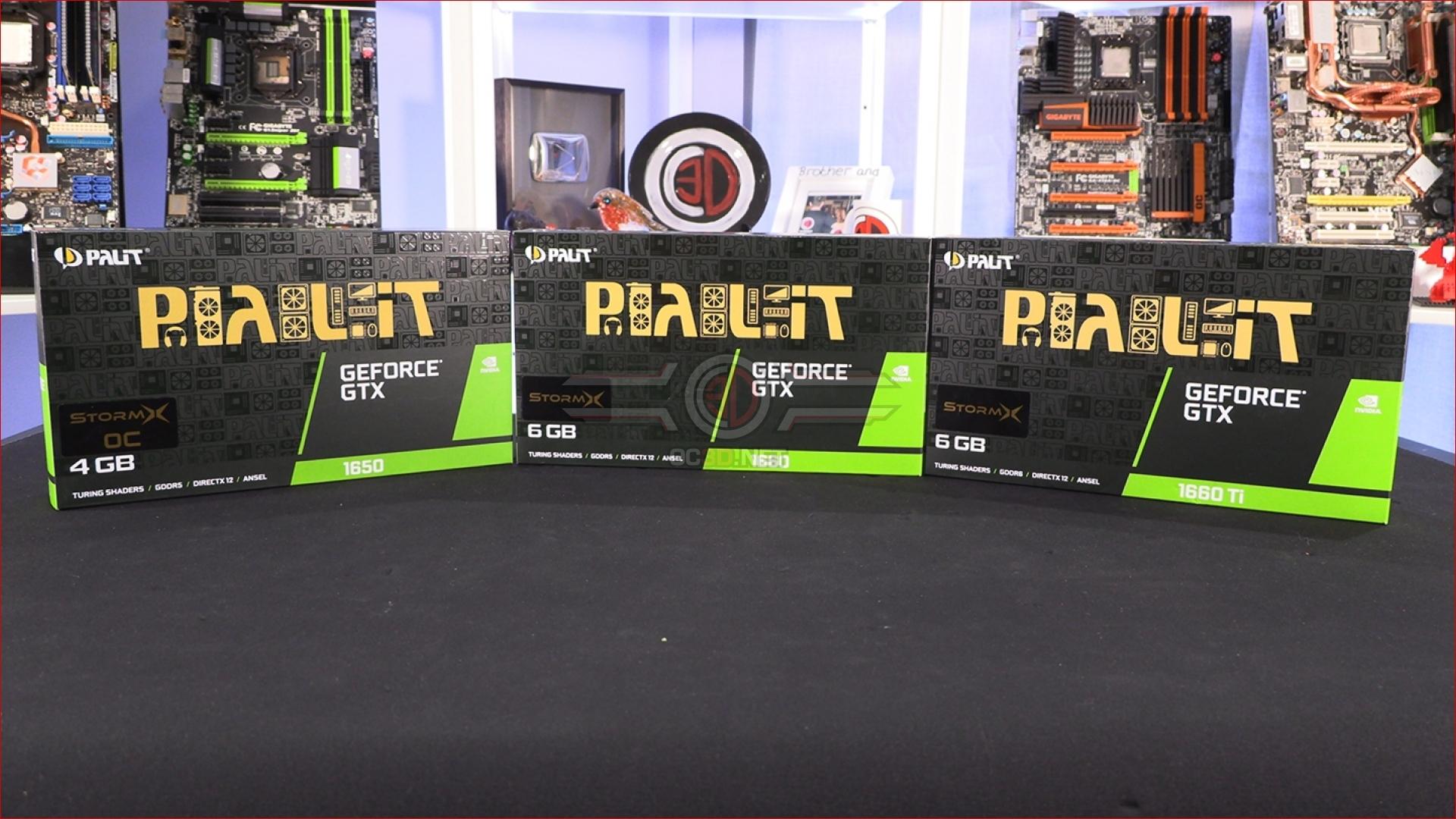 Palit GTX 1650, 1660 and 1660 Ti StormX Review Roundup | Up
