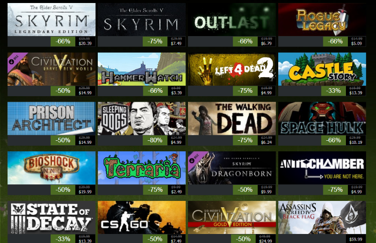 The dates for Steam's Summer Sale have leaked - Prepare your wallets