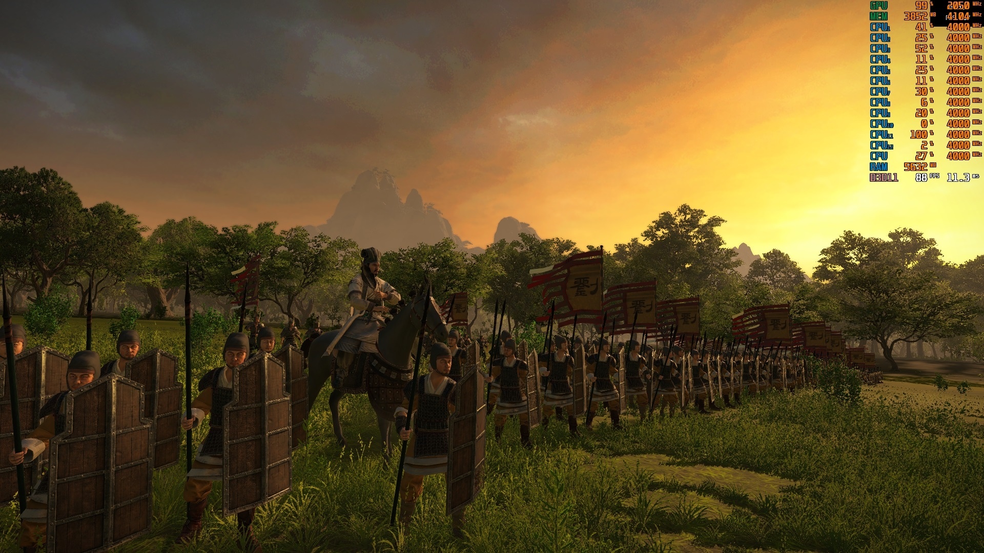 Total War Three Kingdoms Pc Performance Review Graphical