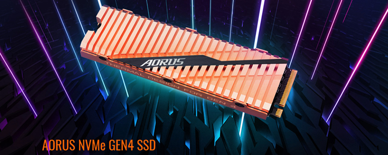 AORUS reveals their Gen4 NVMe SSD with 5,000MB/s writes