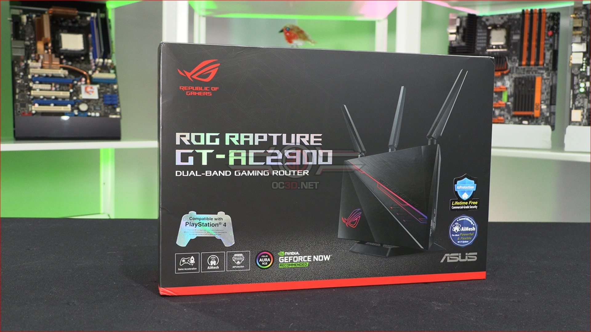 ASUS ROG Rapture GT-AC2900 Review | Up Close | Audio | OC3D Review