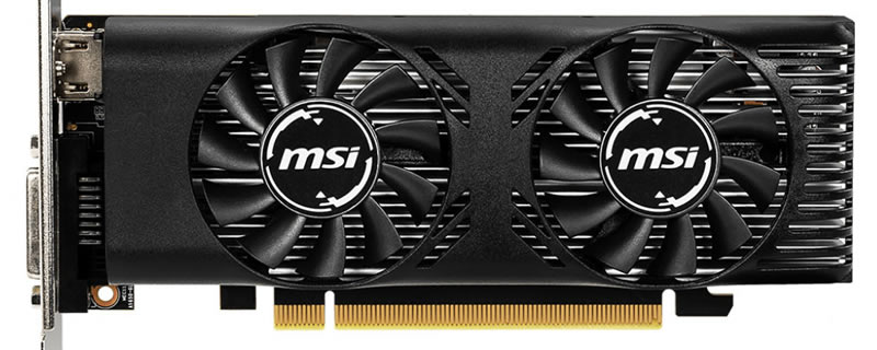 MSI launches two low-profile GTX 1650 graphics cards   OC3D News
