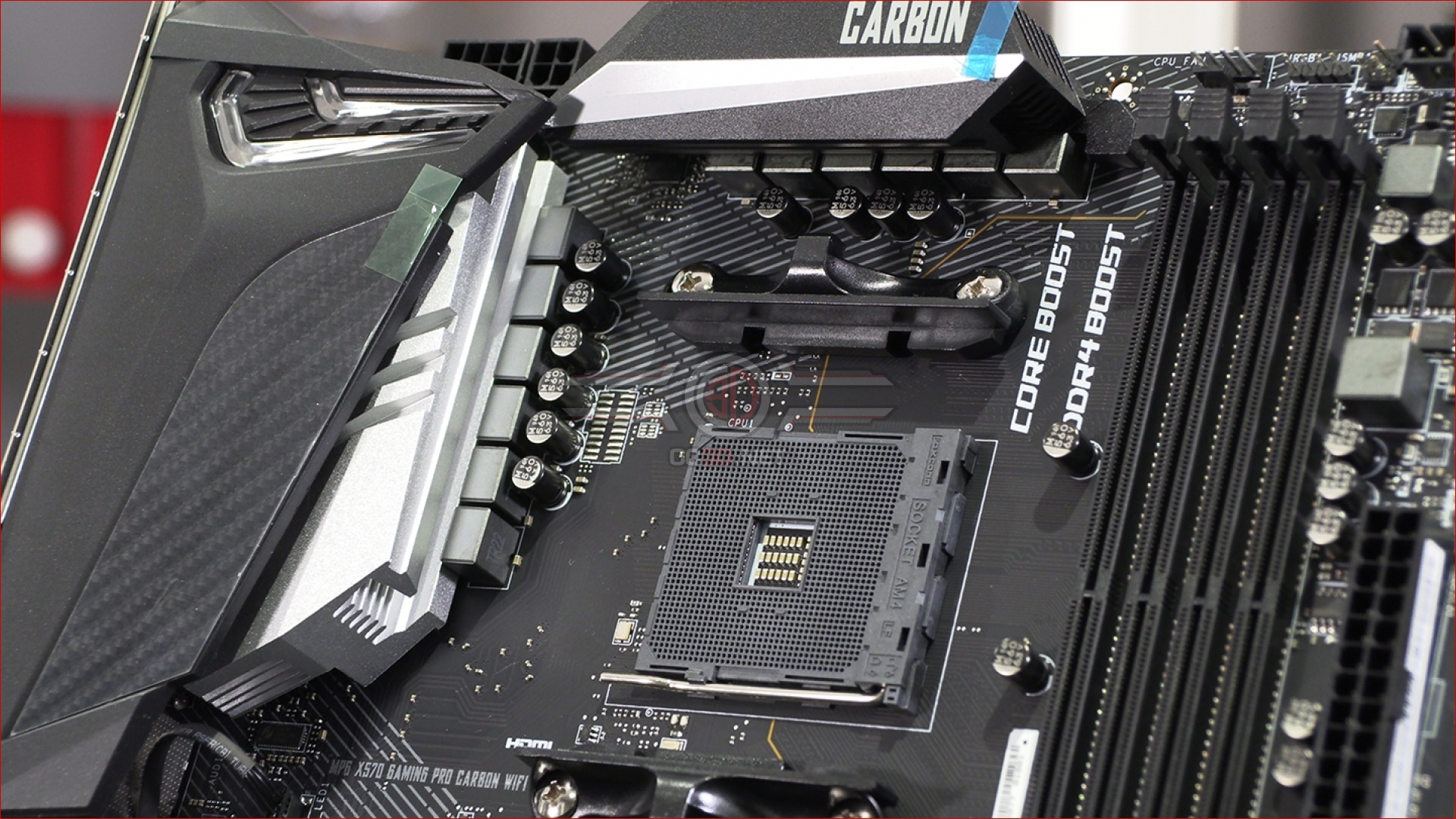 MSI MPG X570 Gaming Pro Carbon WiFi Preview | Up Close | CPU
