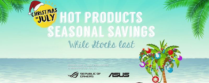 ASUS starts their Christmas in July promotion