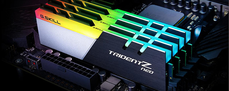 G Skill launches their Ryzen-oriented Trident Z Neo series of DDR4