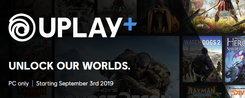 Ubisoft reveals the 100+ Game Library of PC's UPlay+ subscription service