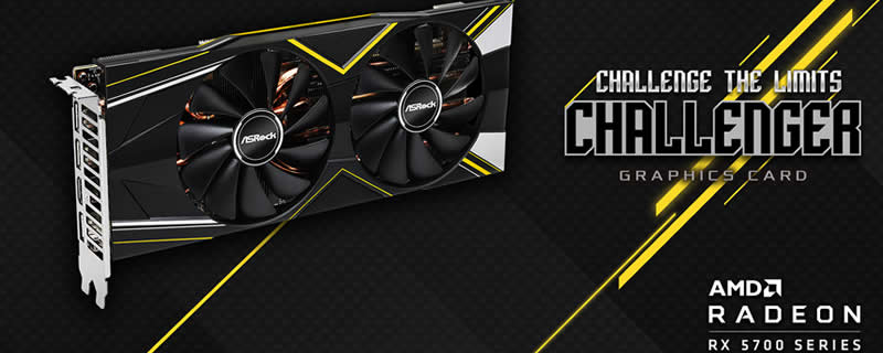 ASRock reveals their RX 5700 Challenger OC series of GPUs