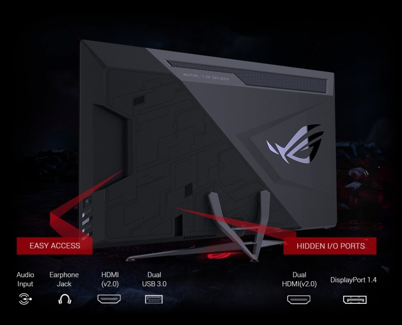 ASUS details their upcoming XG438Q HDR FreeSync 2 Gaming Display