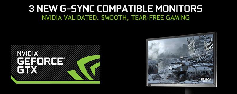 Nvidia certifies three new G-Sync Compatible monitors | OC3D
