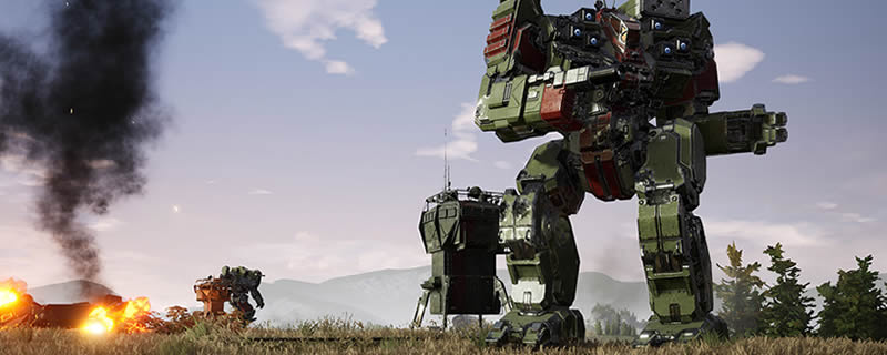 Here's the PC specs you need to run MechWarrior 5: Mercenaries