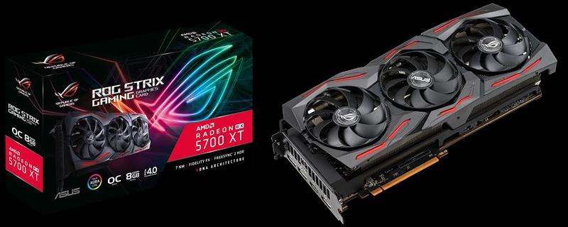 Full Specifications for ASUS' RX 5700 XT Strix leak | OC3D News