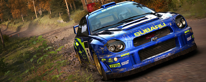 DiRT Rally is currently available for free on PC